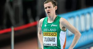 Ciaran O'Lionaird who the mile last year in under four minutes for the first time at Morton Stadium.