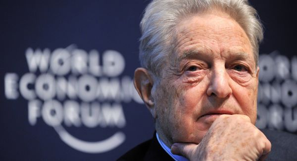 George Soros: Known as 'the man who broke the Bank of England' for selling short the pound. Picture: Getty Images